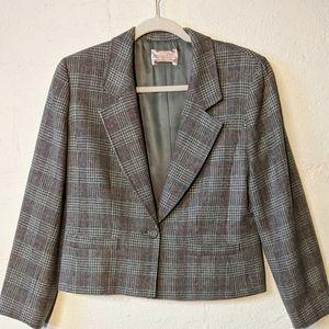 Vtg Pendleton wool blazer 10 p